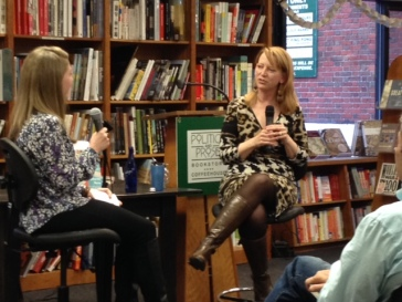 Jenny Jackson, editor at Knopf and Doubleday, and author Katherine Heiny