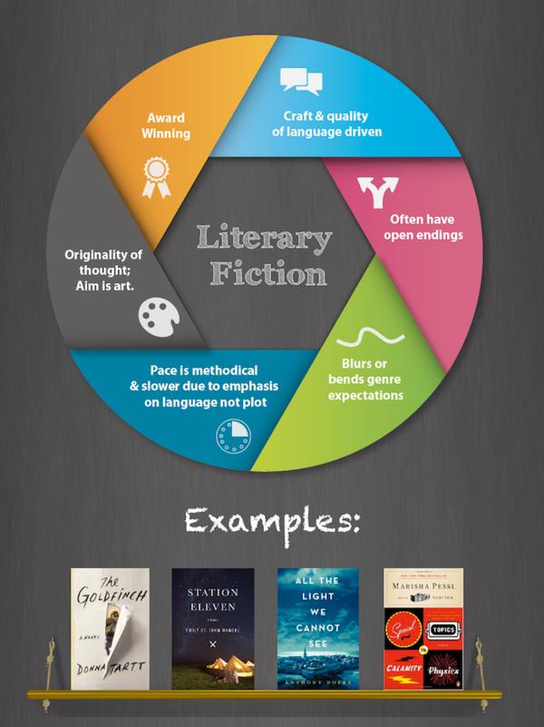 literary fiction copy