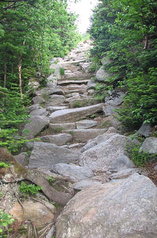 5. uphill climb