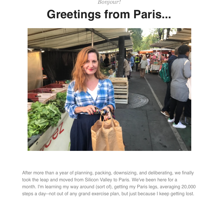 michelle in Paris